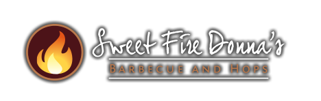 Sweet Fire Donna's Barbecue and Hops - Click to return to the home page.